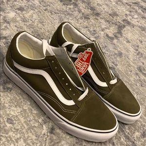 Brand new olive vans